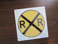 Railroad Crossing Sign RAILROAD Lightweight Aluminum SIGN