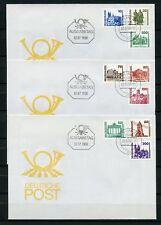 DDR Nr.3344-3352 SCHMUCK-FDC EST BERLIN 2.7.1990 ME 30,-++ !!! (130154)