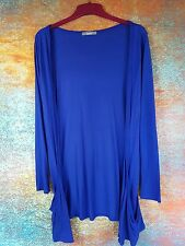 ROYAL BLUE SHRUG WITH POCKETS SIZE 10 NEW #817 *9