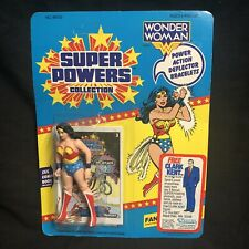 Super Powers Wonder Woman Unpunched Kenner Action Figure Vintage Sealed 1985