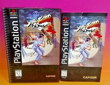 Street Fighter Alpha: Warriors' Dreams Instruction MANUAL + Long Box ONLY NOGAME