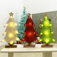 32cm Table LED Christmas Tree Nightlight Light Pine Tree Mini Xmas Tree Decor~;
