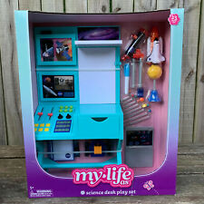 My Life As Science Desk Play Set 23 Pieces American Girl Size Accessory