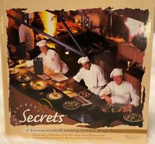 Restaurants Secrets Cookbook Of Sacramento/Gold Country & Other Great Places