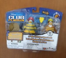 "Disney's Club Penguin 2"" Mix 'N Match Figures: Construction Worker/ Fire Fighter"