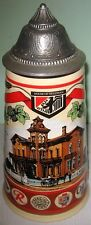 """1992 House of Heileman Beer Stein 101/2"""" high, #949 of 2,410 Excellent condition"""