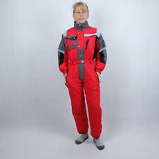 BRUGI Womens Red Festival One Piece Ski Suit Snowsuit Snowboarding SIZE Small
