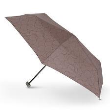 Doppler Carbon Steel Mini Slim Gloria  Folding Umbrella 5 Year Warranty! Brown