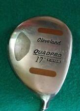 Cleveland Quadpro 17* 4 Wood Fairway RH Golf Club Bi-matrix Shaft Regular Flex