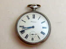 MOLNIA Molnija TALE of the URAL USSR vintage mechanical POCKET watch