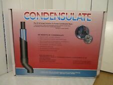 HEATING GAS COMBI BOILER FROZEN CONDENSE PIPE PROTECTOR SLEEVE SET CONDENSULATE