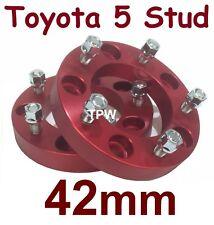 42mm Wheel Hub Spacers 5 Stud Toyota Landcruiser 100 105 200 70 76 78 79 series