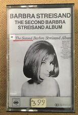 "Barbra Streisand ""The Second Album"" Tape Cassette - Never Been Played"