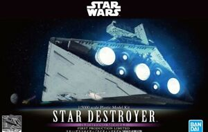 Bandai Star Wars 1/5000 Star Destroyer First Production Limited with LED kit(New