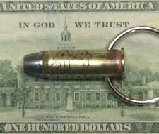 44 MAGNUM~BULLET~BRASS~KEYCHAIN~KEYRING~ZIPPER PULL~CARTRIDGE~ACID ETCHED~44 MAG