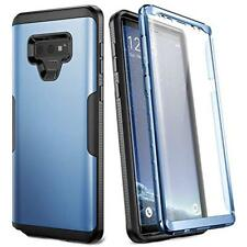Full Body Rugged With Screen Protector Case Cover For Samsung Galaxy Note 9 Blue