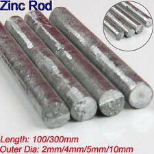 "/""Brand New Zinc Extruded Rod 99.9/% Pure 0.25/""/"" Diameter x 1 Foot/"""