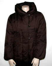 Pre-owned Centigrade MEDIUM Down Coat with Button Closures and Pillow Collar