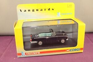Vanguards 1:43 VA07403 Triumph Herald Convertible  Royal Blue