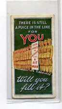 (Jb1797-100)  WILLS,RECRUITING POSTERS,THERE IS STILL A PLACE IN THE LINE,1915#