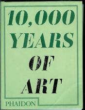 """10,000 YEARS OF ART"" GUIDE BOOK BY COUNTRY OF ORIGIN UK PHAIDON PRESS"