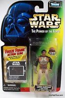 Lando Calrissian as Skiff Guard Star Wars  The Power the Force action figure NIP
