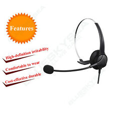 Head-mounted USB Headset Headphone Microphone Adajustable Noise Cancelling Local