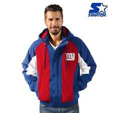 New York Giants Heavy Hitter Full Snap Hooded Jacket