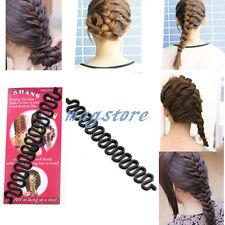 Damen Haare flechten Haare Hairstyling Roller Twist Bun Hair Styling Maker Clip