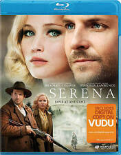 Serena Blu-ray disc/case/cover only-no digital 2015 Lawrence Bradley Cooper