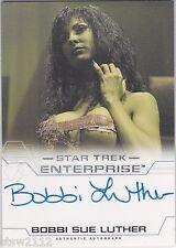 STAR TREK ENTERPRISE SEASON 4 BOBBI SUE LUTHER ORION SLAVE GIRL AUTOGRAPH