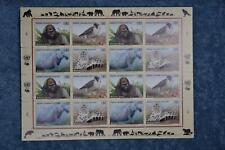 1993 Endangered Species Full Sheet - Geneva G243a - MNH