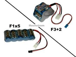 Hochstrom Empfängerakku XCell SCR 6V4500 mAh mit 2 Stecker...