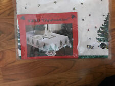 "NIKKO ""CHRISTMASTIME"" HAPPY HOLIDAYS Pattern Table Runner – NEW ( 15"" X 70"" )"