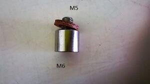 01529 WILESCO ADAPTER M6/M5. UK STOCK FROM UK DEALER.FEMALE M6 .MALE M5
