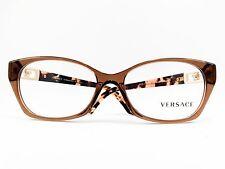 Versace VE3170B 5028 Caramel Transparent New Authentic 54