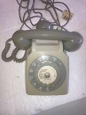 Ancien téléphone à cadran gris, SOCOTEL S63