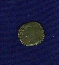 FRANCE  DOMBES  FRANCOIS de BOURBON  1586  DOUBLE TOURNOIS COIN, VF