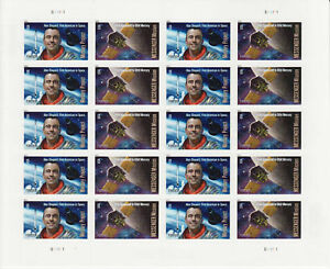 PROJECT MERCURY MESSENGER MISSION STAMP SHEET -- USA #4527-#4528 2011 SPACE
