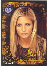 BUFFY THE VAMPIRE SLAYER 2000 INKWORKS FAN CLUB PROMO CARD 1 OF 4 SUMMERS SDCC