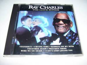 Ray Charles - the love songs RARE Dutch arcade cd 1992