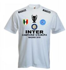 T-SHIRT INTER CHAMPIONS LEAGUE SCUDETTO COPPA MAGLIA TRIPLETE felpa polo