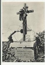colle di sant elia cartolina D' epoca sacrario prima guerra mondiale 71035