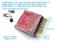 ELE 1x PWM PPM SBUS/DBUS Encoder Signal ConverterDJI Xaircraft 8CH Receiver