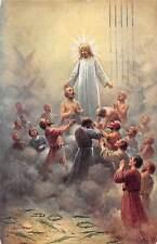 Jesus Christ Religious Illustration, J. Mathauser 1942