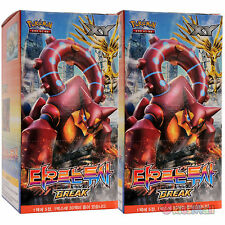 Pokemon Card TCG XY Steam Siege Explosive Fighter Booster Display 2 Box Korean