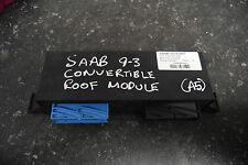 Saab 9-3 cabriolet toit module de contrôle ecu - 12763967 (A5)