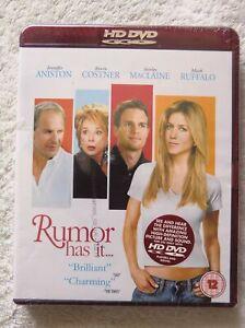 76217 HD DVD - Rumor Has It [NEW / SEALED]  2005  HD80793