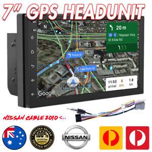 "7"" Car DVD GPS Head Unit Player Stereo Radio Navi For Nissan"