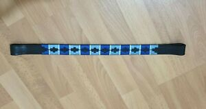 Designer  Multi color  Browband ,Polo Leather Black FULL (A3)